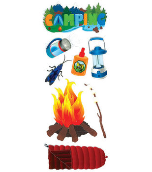 Touch Of Jolee's Dimensional Embellishment-Camping