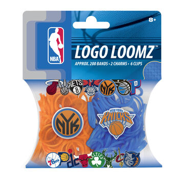 Forever Collectibles Logo Loomz Filler Pack New York Knicks
