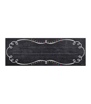 Chalk It Up! Swirls & Twirls Name Plates
