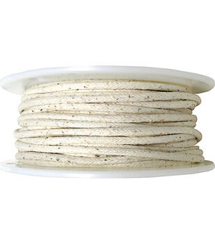 "5 1/2""x100yd Cotton Piping-Natural"