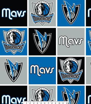 Dallas Mavericks NBA  Fleece Fabric