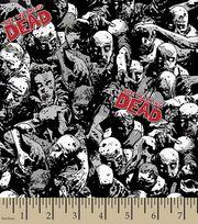 Walking Dead Zombies Cotton Fabric, , hi-res