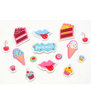 Foamies Printed Stickers Sweet Treats