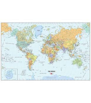 WallPops World Map