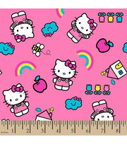Sanrio Hello Kitty With Icons Flannel Fabric, , hi-res