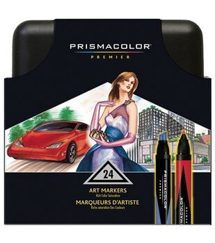 Sanford Prismacolor Markers 24Pk-Includes Case