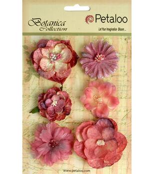 Floral Embellishments Mixed Blooms 6/Pk