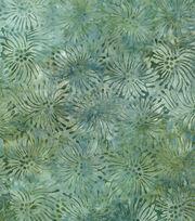 Premium Prints Cotton Fabric-Starburst Watercolor Green, , hi-res