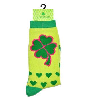 St. Patrick's Day Crew-Shamrock Hearts