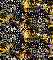 Boston Bruins NHL All Over Cotton Fabric, , hi-res