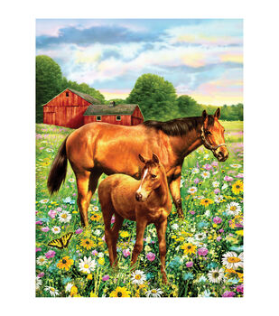 Royal Langnickel Horse In Field Junior Small Paint By Number Kit