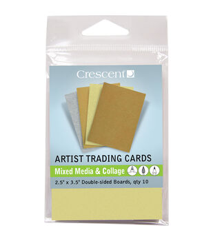 Crescent Artist Mixed Media & Collage Metallic Colors Trading Cards