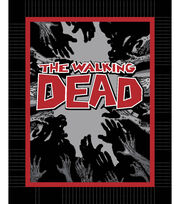 Walking Dead Zombie Hands  48'' No Sew Fleece Throw Kit, , hi-res