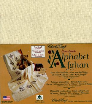 Cross Stitch Alphabet Afghan