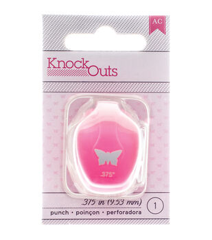 American Crafts™ Knock Outs Mini Punch-Butterfly