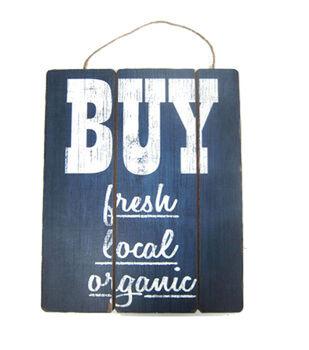 Sea To Shining Sea Wall Sign-Buy Fresh Local