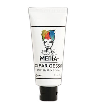 Ranger® Dina Wakley Media 2 fl.oz Mediums Clear Gesso Tube