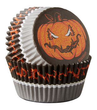 Wilton® Standard Baking Cups-Hallows Eve 75/Pkg