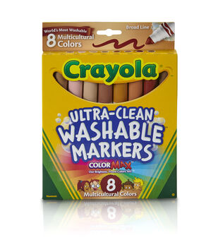 Busy Kids Learning Crayola Multicultural Markers