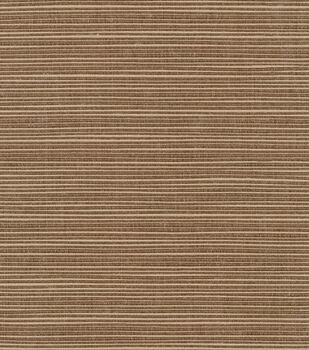 Home Decor 8''x 8''Swatch Outdoor Fabric-Sunbrella Furn Dupione Walnut