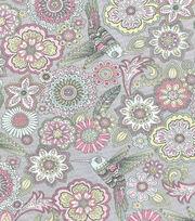 Keepsake Calico™ Cotton Fabric-Poppy Birds & Floral, , hi-res