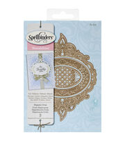 Spellbinders® Nestabilities Decorative Elements Dies-Majestic Oval, , hi-res