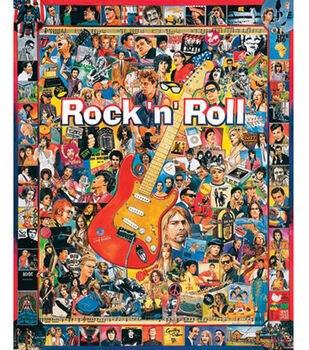 White Mountain Puzzles Jigsaw Puzzle Rock'n'roll