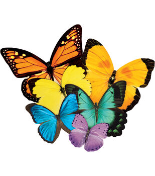 """Jigsaw Shaped Puzzle 500 Pieces 17""""X23""""-Butterflies"""