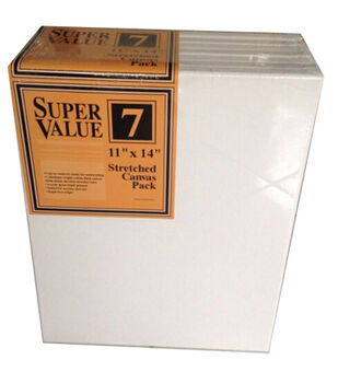 "Jo-Ann Stores Stretched Canvas Super Value Pack 11""x14"""