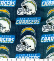 San Diego Chargers NFL Fleece Fabric by Fabric Traditions, , hi-res