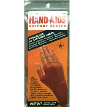 Hand-Aids Lycra Support Gloves (1 Pair)-X-Large