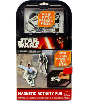 Star Wars Magnetic Activity Fun
