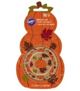 Standard Baking Cups-Pumpkin 50/Pkg