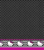 Sanrio Hello Kitty Black & White Mock Smock, , hi-res