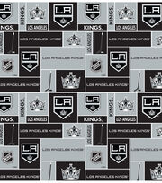 Los Angeles Kings  NHL Block Fleece Fabric, , hi-res