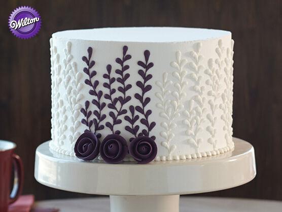 Wilton Cake Kit Course 1 : Wilton Cake Decorating Course 1: Building Buttercream ...