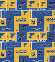 St. Louis Blues NHL Block Cotton Fabric, , hi-res