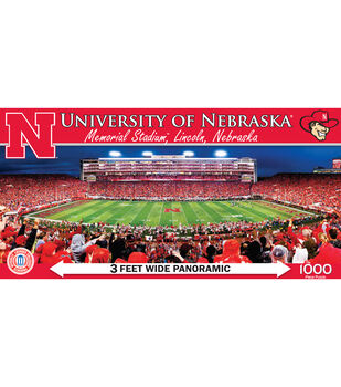 University of Nebraska  NCAA Master Pieces  Panoramic Puzzle
