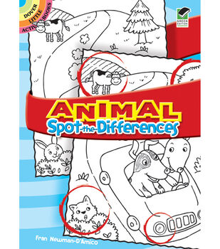 Dover Publications-Animal Spot-The-Differences Book