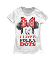 Disney Minnie Mouse Polka Dots Kids T-shirt, , hi-res