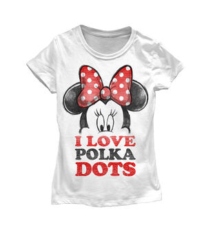 Disney Minnie Mouse Polka Dots Kids T-shirt
