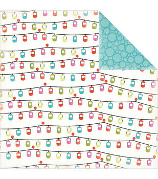 Carta Bella Summer Lovin' Gondolas Double-Sided Cardstock Paper