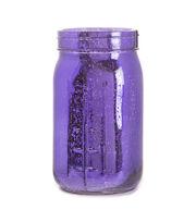 Fab Lab™ Purple Mercury Finish Glass Mason Jar Quart, , hi-res