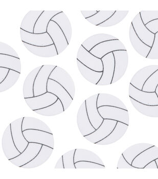 Foam Stickers - Volleyball Shape