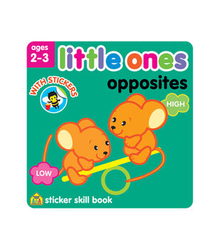 Little Ones Opposites Sticker Workbook