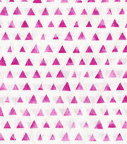 Keepsake Calico™ Cotton Fabric-Fuchsia Shaded Triangle, , hi-res