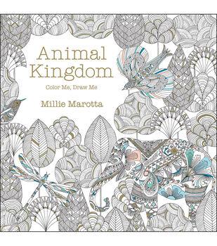 Adult Coloring Book-Lark Books Animal Kingdom