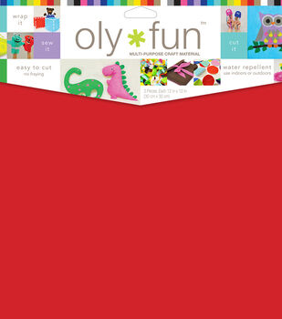 "Oly*Fun Multi-Purpose Craft Material 12""x12"" Pack of 3"