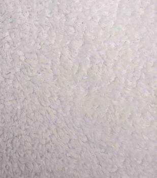 Luxury Faux Fur-Sherpa White Fur Fabric