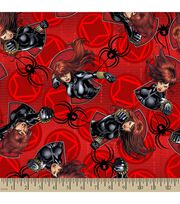 Marvel's The Avengers Print Fabric-Black Widow, , hi-res